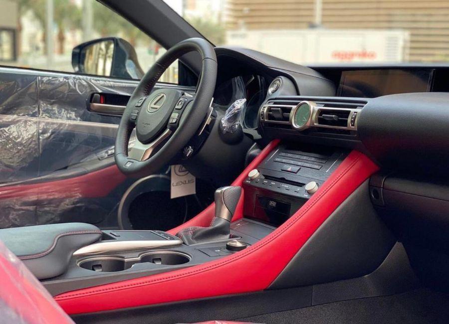 لكزس ار سي 350 اف-سبورت 2019