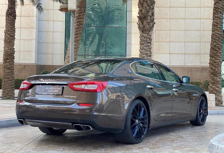 Maserati Quattroporte GTS 2014