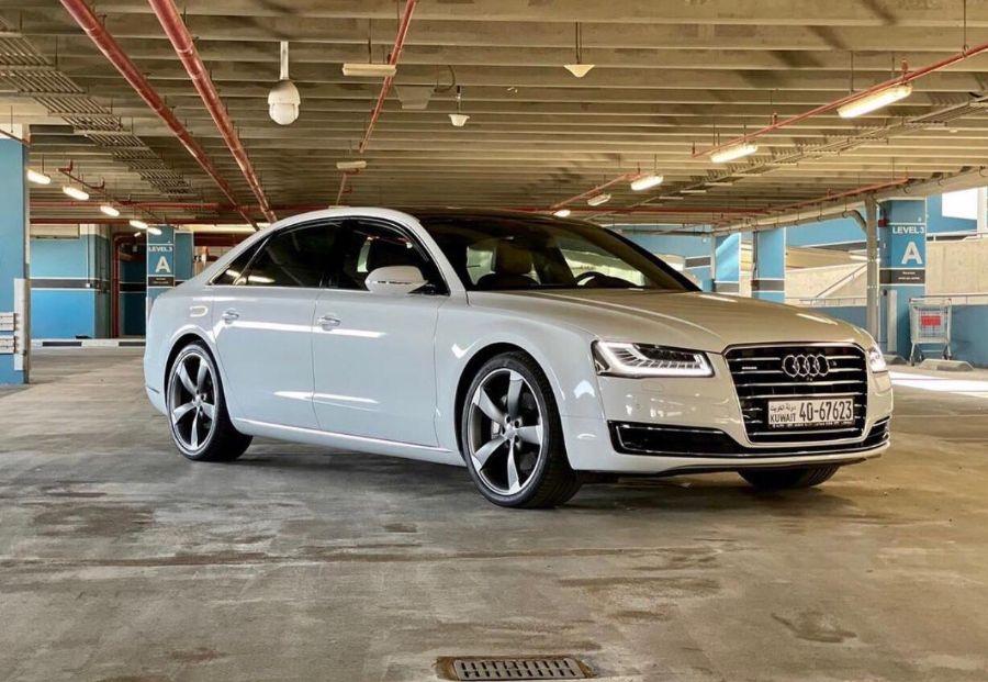 Audi A8 L Quattro 2016