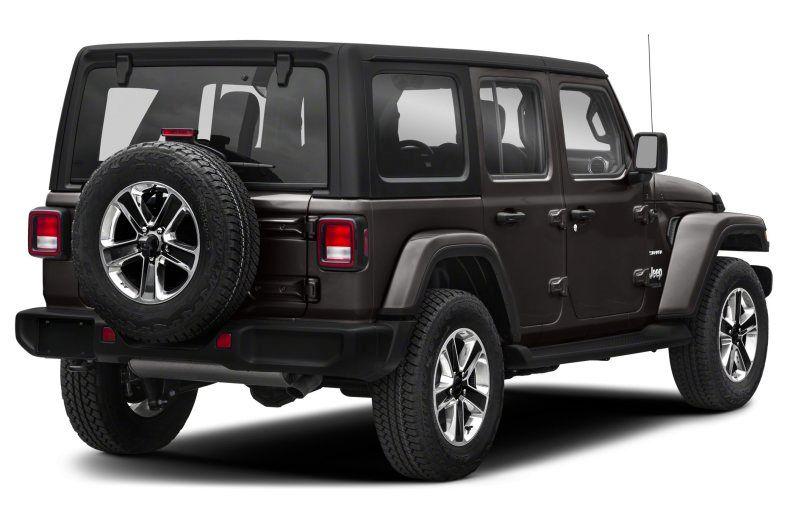 Jeep Wrangler Sahara Unlimited 2019