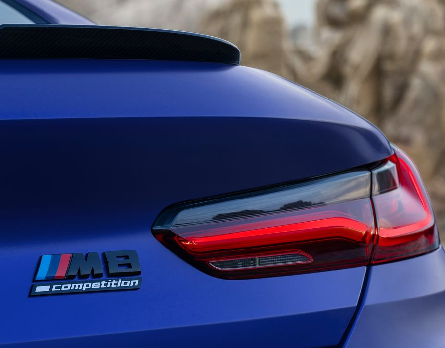 BMW M8 Competition 2020