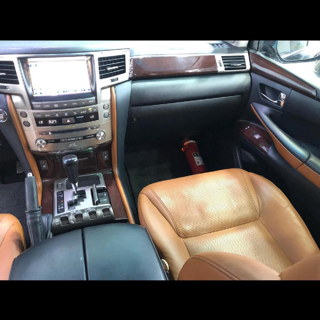 Lexus LX 570 Sport 2014
