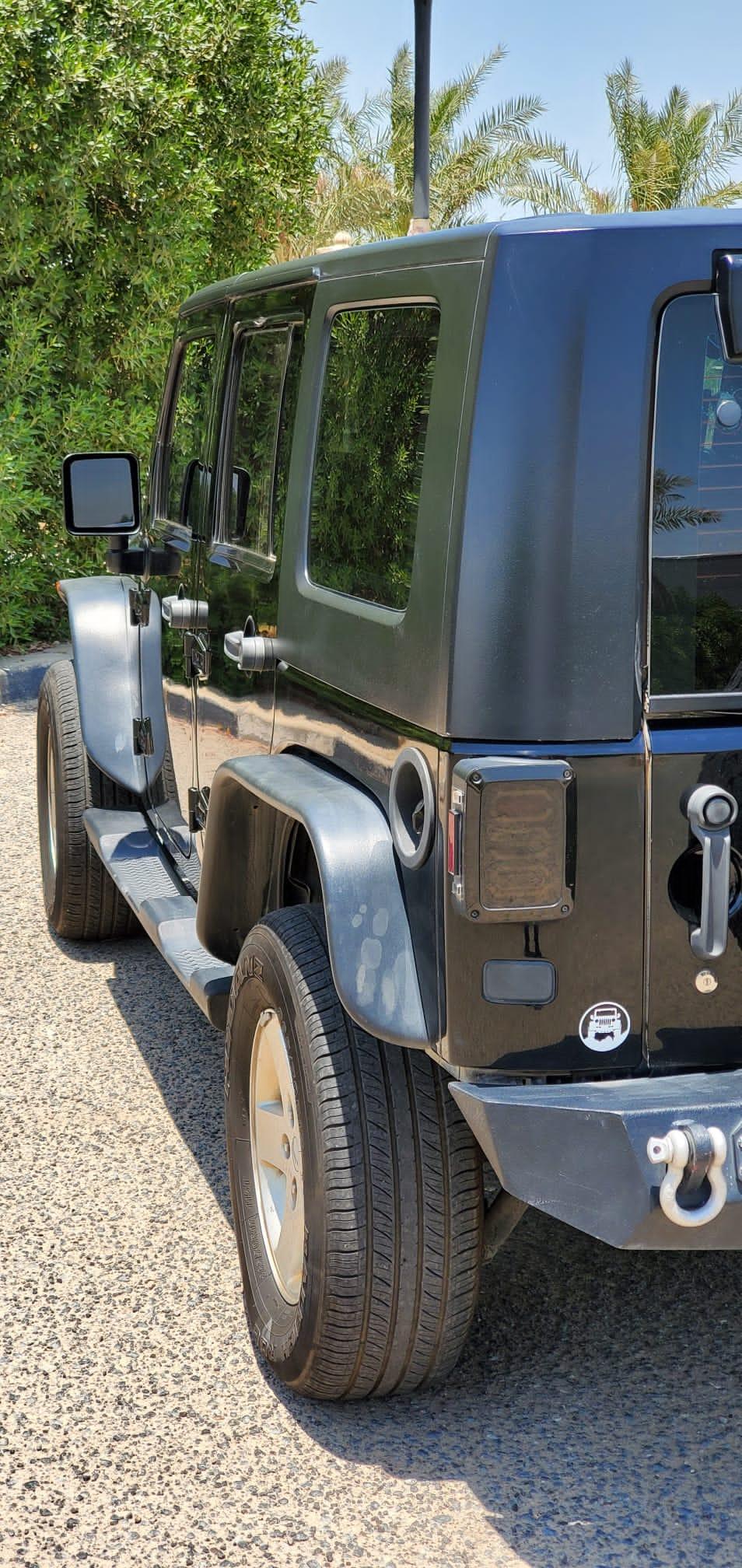 Jeep Wrangler Sahara Unlimited 2010