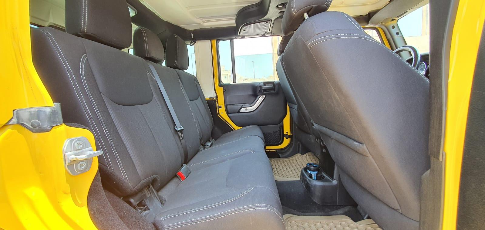 Jeep Wrangler Sahara Unlimited 2015
